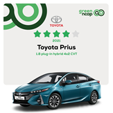 Toyota Prius - Green NCAP Results February 2021 - 4 stars