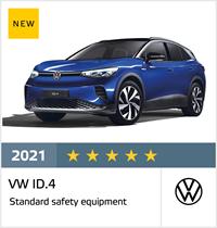 VW ID.4 - Euro NCAP Results April 2021 - 5 stars