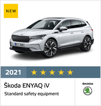 Škoda ENYAQ iV - Euro NCAP Results April 2021 - 5 stars