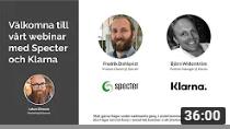 Webinar med Specter & Klarna