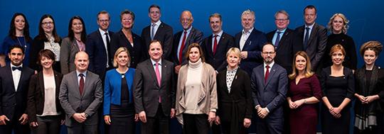 Sveriges feministiska regering. Foto: Kristian Pohl/Regeringskansliet.