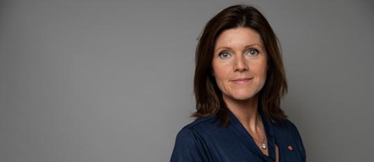 Porträttbild på Eva Nordmark. Foto: Kristian Pohl/Regeringskansliet