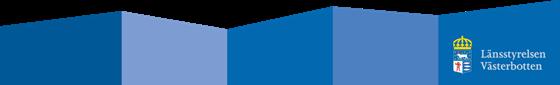 Logotyp Länsstyrelsen Västerbotten
