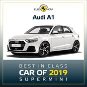 Audi A1 - Euro NCAP Best in Class 2019 - Supermini