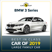 BMW 3 Series - Euro NCAP Best in Class 2019 - Large Family Car