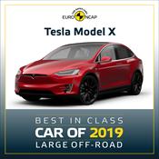 Tesla Model X - Euro NCAP Best in Class 2019 - Large Off-Road