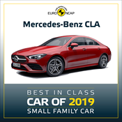 Mercedes-Benz CLA - Euro NCAP Best in Class 2019 - Small Family Car