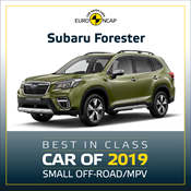 Subaru Forester - Euro NCAP Best in Class 2019 - Small Off-Road