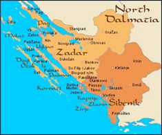 Norra Dalmatien