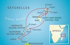 seychell map