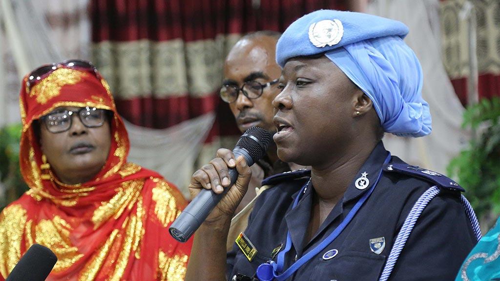 Women peace forum i Somalia. Foto: Unsom