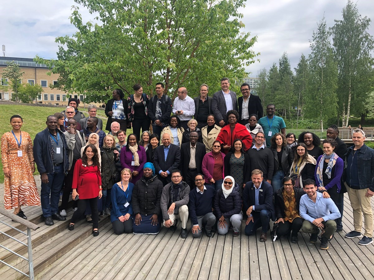 Photo of the participants in Local Democracy Academy in Umeå 2019