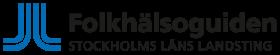 Folkhälsoguidens logga med länk till webbplatsen