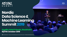 Nordic Data Science and Machine Learning Summit 2019