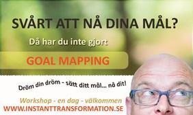 Goal Mapping Stockholm 25 januari