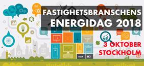 Fastighetsbranschens Energidag 2018