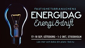 Fastighetsbranschens Energidag 2019 & EcoDriving av Fastigheter