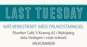 Last Tuesday nätverksfrukost i Nyköping
