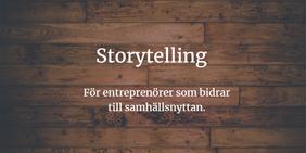 Utbildning i storytelling