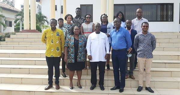Participants in the Ghana workshop