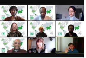 Staff from EfD Global Hub